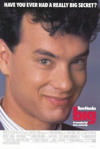 Tom Hanks - I met him before he chewed on the little corn in the movie BIG