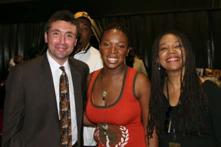 Norm Levy with India.Arie and Simpson Arie