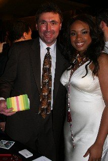 Jennifer Hudson and Norm Levy