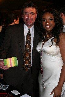 Jennifer Hudson and Norm Levy