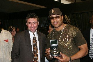 LL Cool J and Norm Levy - LL Hosted the NAACP Televised Image Awards