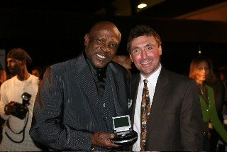 Louis Gossett, Jr and Norm Levy