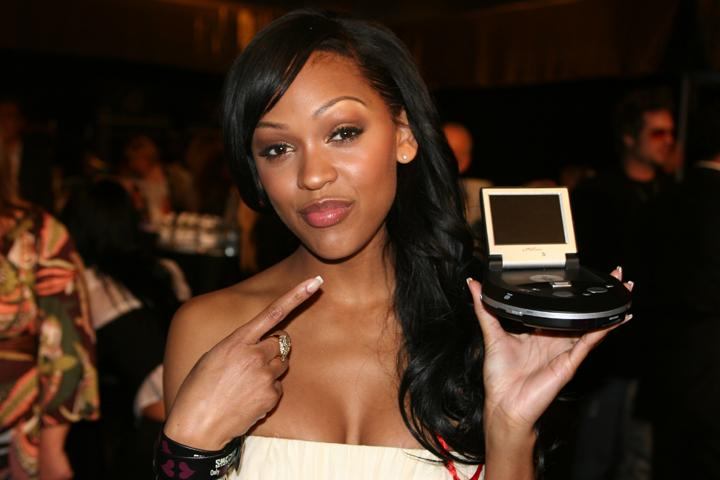 Meagan Good - Showing off her eMotion