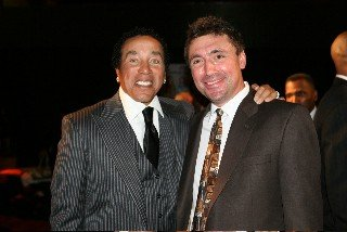 Legendary Smokey Robinson and Norm Levy