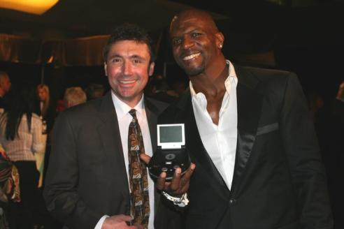 Norm Levy and Terry Crews