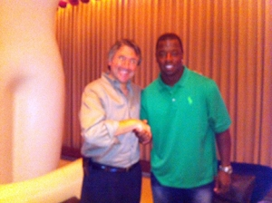 Norm and Kordell (Pittsburgh Steelers) Stewart - Summer 2012