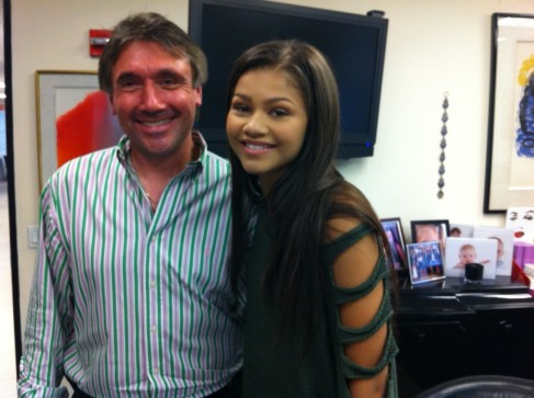 Norm and Zendaya (Shake it Up) Coleman - Summer 2012