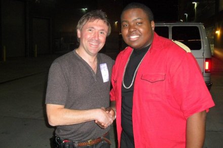 Norm and Sean Kingston (Justin Bieber 3D Concert)